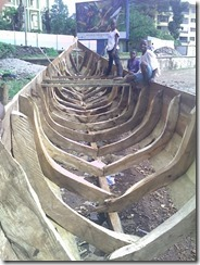 Construction barque Conakry